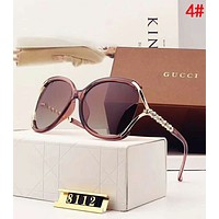 Gucci New Popular Women Simple Summer Sun Shades Eyeglasses Glasses Sunglasses