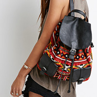 Southwestern-Patterned Backpack