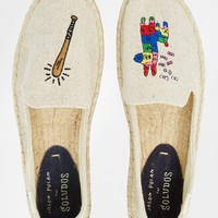 Soludos Jason Polan Pinata Espadrille Flat Shoes