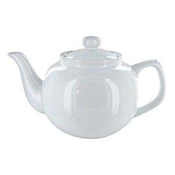 Windsor Ceramic 6 Cup White Teapot