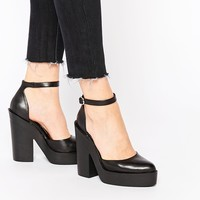 Windsor Smith Pow Ankle Strap Heeled Shoes