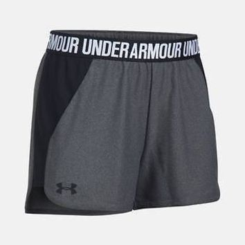 """Under Armour Women's UA 3"""" Play Up 2.0 Shorts XS, S, M Many Colors Running Short"""