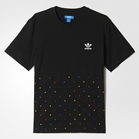 Trendsetter Adidas Woman Fashion Embroidery Short Sleeve Shirt Top Tee