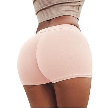 Hot Shorts Sexy Peach Buttocks Skinny Summer  Women High Waist Push Up Hot  Ladies Hotpants Short Feminino Pantalon Corto MujerAT_43_3
