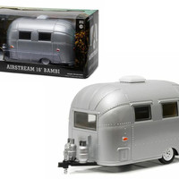 Airstream Bambi 16' Camper Trailer Silver for 1-24 Scale Model Cars and Trucks 1-24 Diecast Model by Greenlight