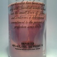 (1) Purple Absolut 20 oz Soy Candle With One Standard Wick - Bottle Heaven