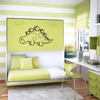 DINOSAUR BABY KIDS ROOM NURSERY WALL STICKER DECALS ART MURAL B364