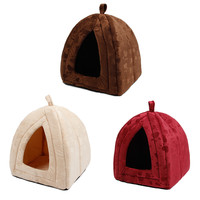 Pet Kennel Super Soft Fabric Dog Beds