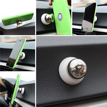 Universal Magnetic Car Phone Holder For Iphone Ipad For Samsung GPS Accessories