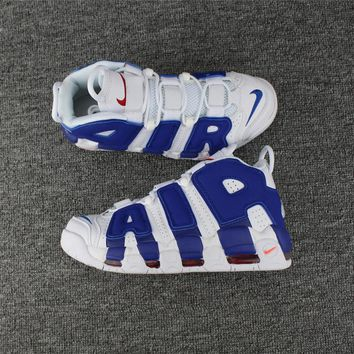 Nike Air More Uptempo Knicks 921948-101 Size 36--46