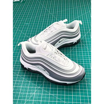 Nike Air Max 97 Ultra Se Grey White Women's Sport Running Shoes