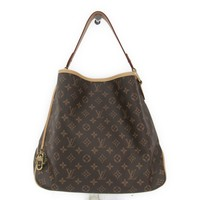 Louis Vuitton Monogram Delightful MM M50157 Women's Shoulder Bag Pivoin BF313354
