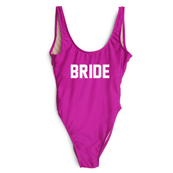 Bride One Piece Swimsuit