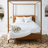 Prana Live-Edge Four-Poster Bed