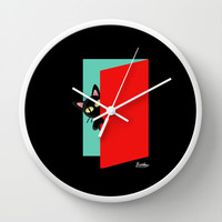 Hello Wall Clock by BATKEI
