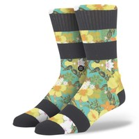 Stance | Haleiwa Aqua, Red, Orange, Yellow, Green socks | Buy at the Official website Main Website.
