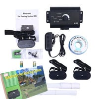 Underground Fence System for Dogs - Waterproof Electric Shock Collar For 1-3 Dogs