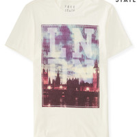 Mens Free State London Graphic T-Shirt