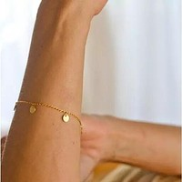 Fashionable Thin Chain Bracelet