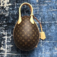 LV Louis vuitton sells women's classic printed, patchwork, egg-shaped, cross-shaped bags