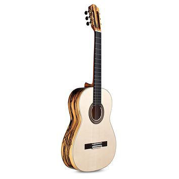 Cordoba 45 Limited Classical Acoustic Nylon String Guitar, Espana Series (made in Spain) with Humidified Hardshell Case