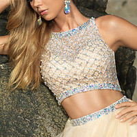 Two Piece Ball Gown by Blush