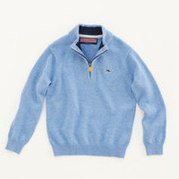 Shop Sweaters for Boys': Cotton 1/4-Zip Sweater for Boys' - Vineyard Vines