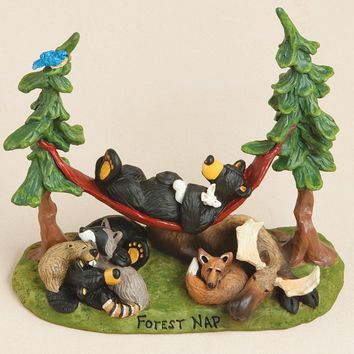 Forest Nap Figurine