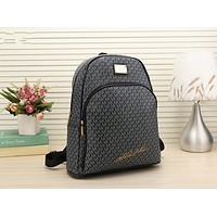 MK Cute Pattern Leather Travel Bag Backpack G-LLBPFSH