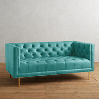 Premium Leather Mina Settee
