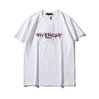 WOMEN MENS Embroidery T SHIRT 2019 Givenchy SHORT SLEVEE TOP BLOUSE