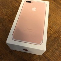 iphone 7 plus 128GB Rose Gold (Unlocked)