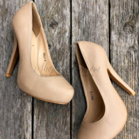 HIGH MAINTENANCE HEEL - NUDE