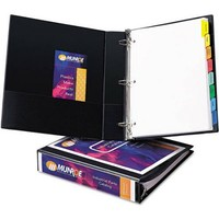 "Avery Durable Slant Easy Insert Ring View Binder, 1-1/2"" Capacity, 2 Pack - Walmart.com"