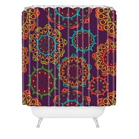 Juliana Curi India 4 Shower Curtain