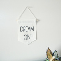 mini banner, banner wall hanging, living room decor, graduation gift , inspirational quote, wall hanging, teens gift, college dorm decor