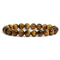 Simple Collection - Tiger Eye Beaded Bracelet