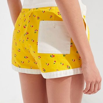 UO Gidget Tie-Front Board Short | Urban Outfitters