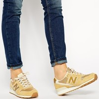 New Balance 996 Suede Gold Trainers at asos.com