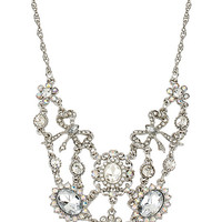 STONE PEARL SMALL CRYSTAL NECKLACE