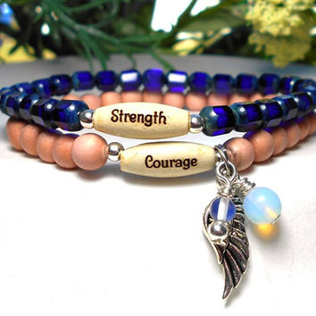 Strength and Courage Bracelet