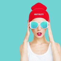 security beanie knit hat