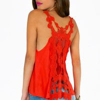 Right Lace Right Time Tank Top $19