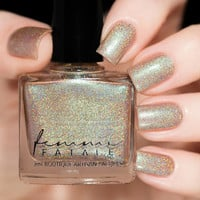 Femme Fatale Ray Of Golden Sunshine Nail Polish (Blogger Collab Collection)