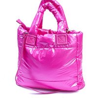 Puffy Pink Tote