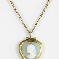 Urban Outfitters - Cameo Heart Necklace