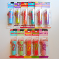 Maybelline Baby Lips - Regular & Limited Editions - Pick Yours Shades!