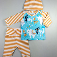 Baby boy coming home outfit, Organic baby boy hospital outfit, newborn outfit, baby boy take home outfit, organic baby clothes, baby set
