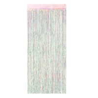 1-Ply FR Gleam 'N Curtain (opalescent) Party Accessory (1 count) (1/Pkg)