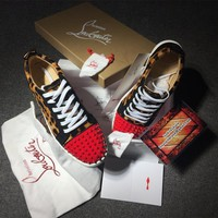 Cl Christian Louboutin Low Style #2080 Sneakers Fashion Shoes - Best Deal Online